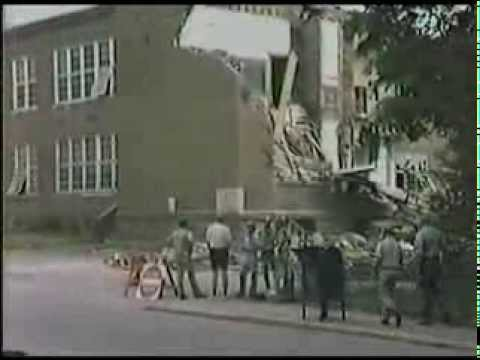 Philippi Middle School Demolition