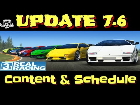 Update 7.6 Real Racing 3