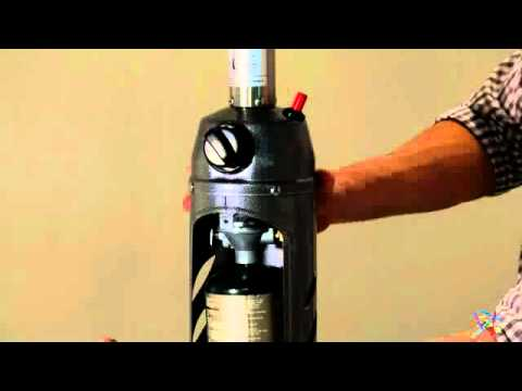 AZ Patio Heater Portable Sliver/Black Tabletop Heater   Product Review Video