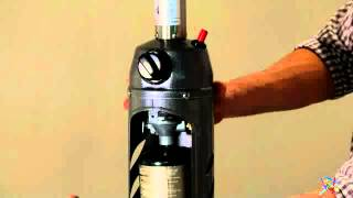 AZ Patio Heater Portable Sliver/Black Tabletop Heater - Product Review Video