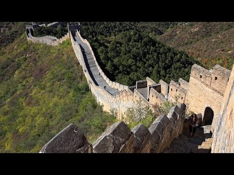Great Wall of China: Jinshanling to Simatai in 4K (Ultra HD)