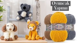 Sık İğne ve Parmak Örgüsü ile Oyuncak Yapımı-Making Toys with Single Crochet and Finger Knitting