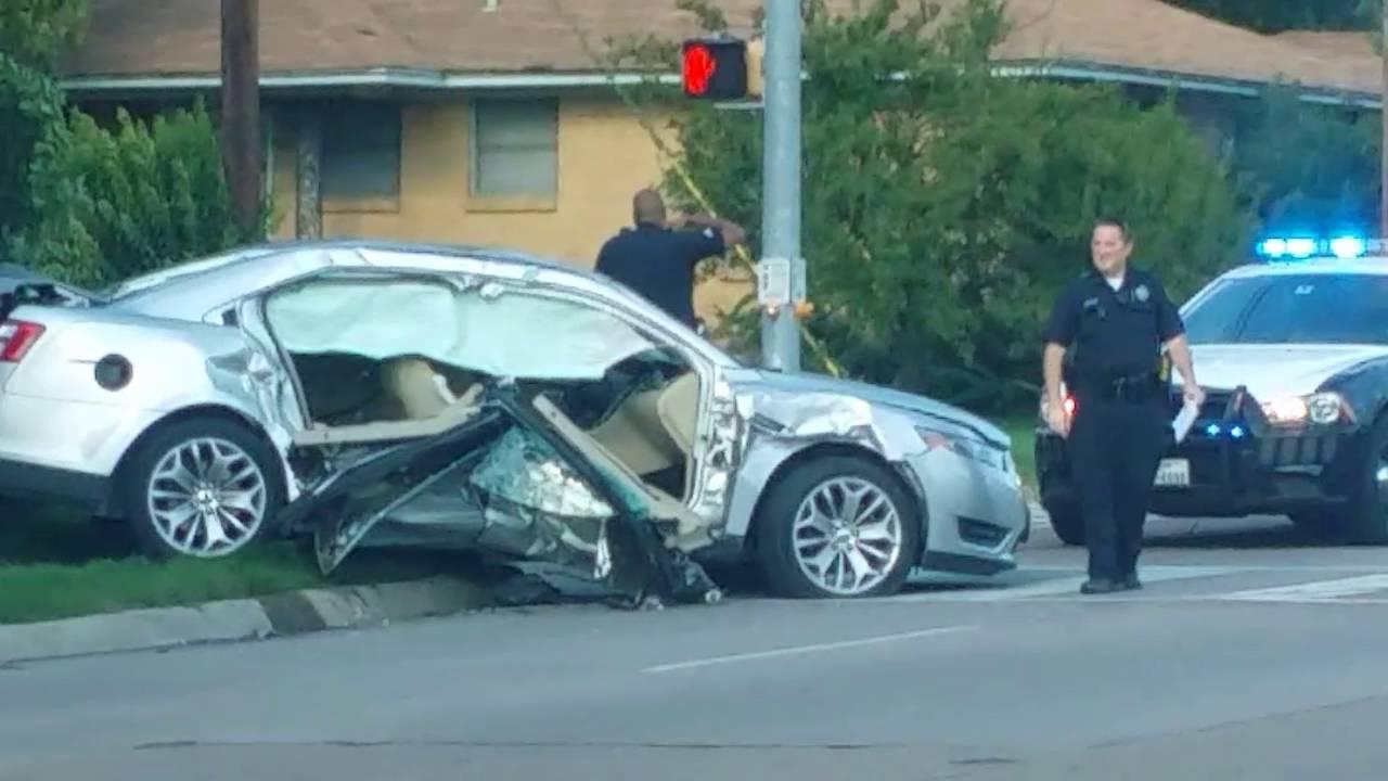 car crash dallas  FATAL CAR CRASH!! (DALLAS,TX) - YouTube