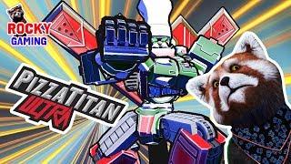 ПИЦЦА И РОБОТЫ - СУПЕР СОЧЕТАНИЕ! Рокки играет в Pizza Titan Ultra!