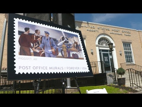 USPS® Post Office Murals Forever® Stamps