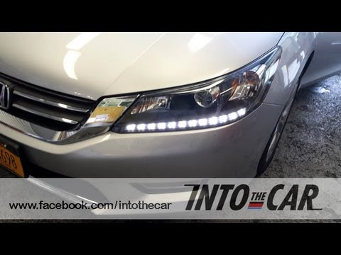 diy 2013 2015 honda accord led daytime running lights. Black Bedroom Furniture Sets. Home Design Ideas