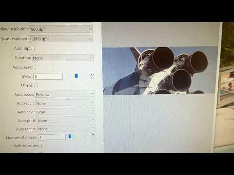 Reflecta RPS 7200 slide scanner and Vuescan software