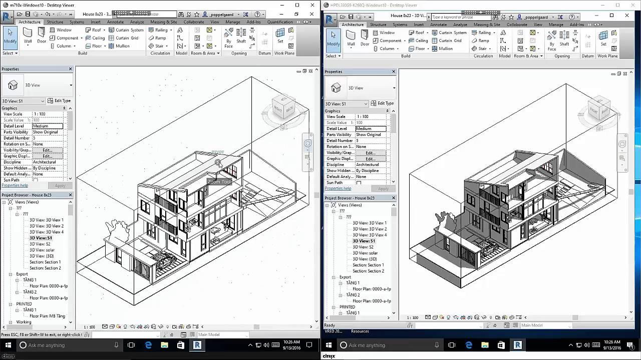 HPE m710x Server Cartridge - user experience Autodesk Revit 2017 w Citrix