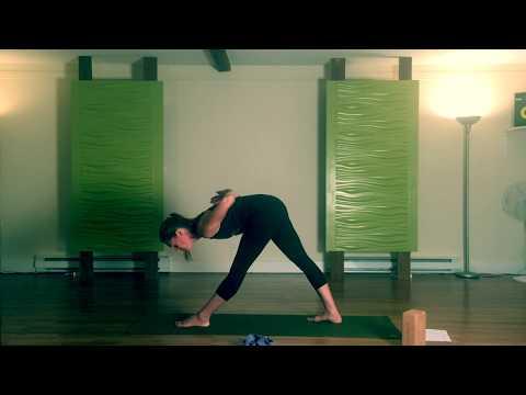 Ouverture des hanches avec l' Asthanga yoga