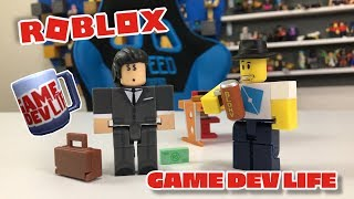 #ROBLOXTOYS GAME DEV LIFE Unboxing 2 Figure Game Pack Roblox Toy Set From Jazwares Toys