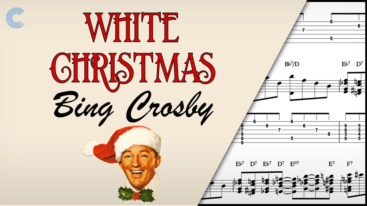 flute white christmas bing crosby sheet music chords vocals youtube