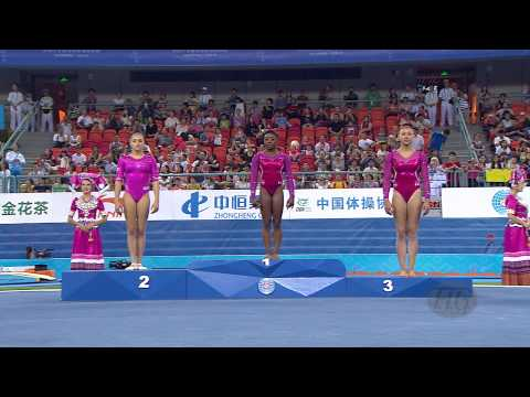 2014 Artistic Worlds, Nanning (CHN) – Women's All-Around Victory Ceremony – We are Gymnastics !