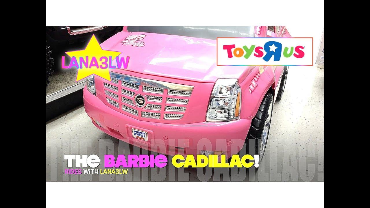 best popular barbie cadillac kids electric ride car lana3lw youtube