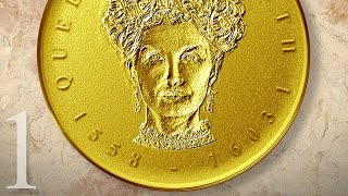 Photoshop: Part 1 - Create a Gold, Medallion Coin Portrait