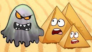 ЛИЗУН ГЛАЗАСТИК съел Древний Египет. ИГРА Tasty Planet 2 #2 на Игрули TV