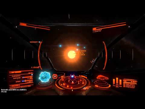 Elite Dangerous: jumpy ship positions