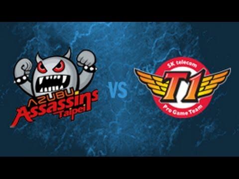TPA vs SKT - 2014 All-Star Group Stage D1