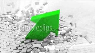 Green arrow destroys a wall
