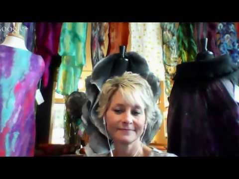 Fiber Art Now FANFare interview with Robbin Firth