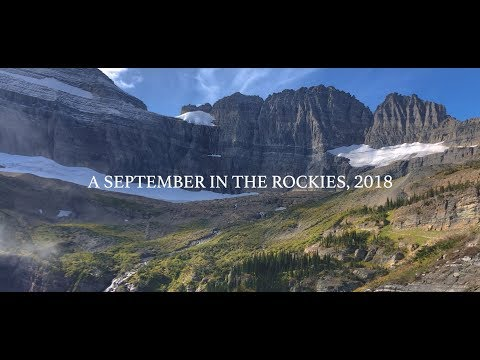 A september in the Rocky Mountains, 2018 USA road trip