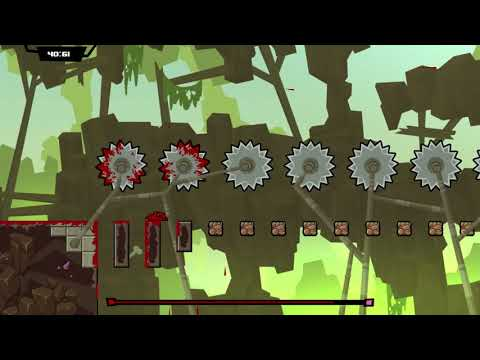 14 Minutes of Super Meat Boy Forever Gameplay - Direct Feed (PAX East 2018)