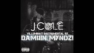 J. Cole - Villuminati (Official Instrumental prod. by Damijin