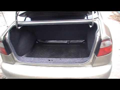 Обшивка карпетом багажника и крышки на Ланосе