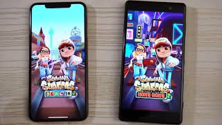 New  iPhone XS Max vs Old  Sony XZ2 Premium( Gaming or Booting) - Speed Test!
