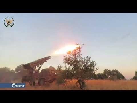 قتلى لميليشيا أسد الطائفية بنيران الفصائل غرب حماة - سوريا  - 16:53-2019 / 7 / 21