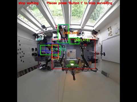 Multi-target tracking using 360 degree camera
