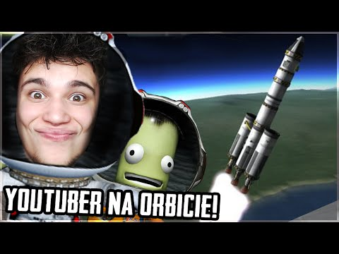 YOUTUBER NA ORBICIE! ( ͡° ͜ʖ ͡°) - Kerbal Space Program #3 [Kariera]