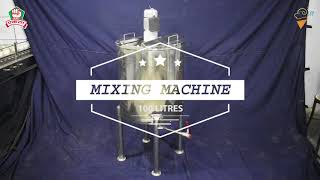 Ekta Mixing Machine 100 Litres. Call / Whatsapp : +91 8822686868