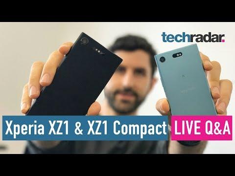 Sony Xperia XZ1 + XZ1 Compact Live Q&A