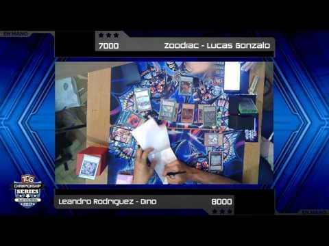 YACS - Top 8 - Lucas Gonzalo (Zoodiac) vs Leandro Rodriguez (True King Dino)