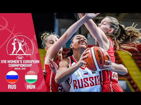 Russia V Hungary - Ful Game - FIBA U16 Women's European Championship 2019
