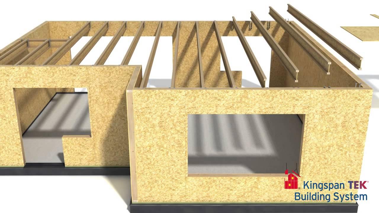 kingspan tek sips demonstration youtube. Black Bedroom Furniture Sets. Home Design Ideas