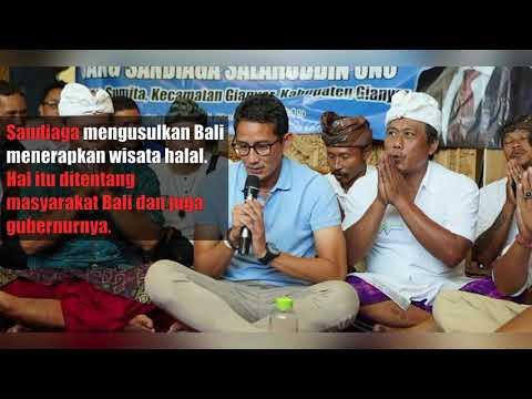Wacana Sandi Mengembangkan Wisata Halal Di Bali Mendapatkan