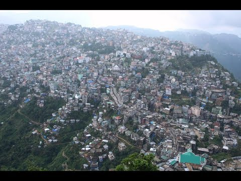 Amazing Aizawl Aerial Amenity (Mizoram)