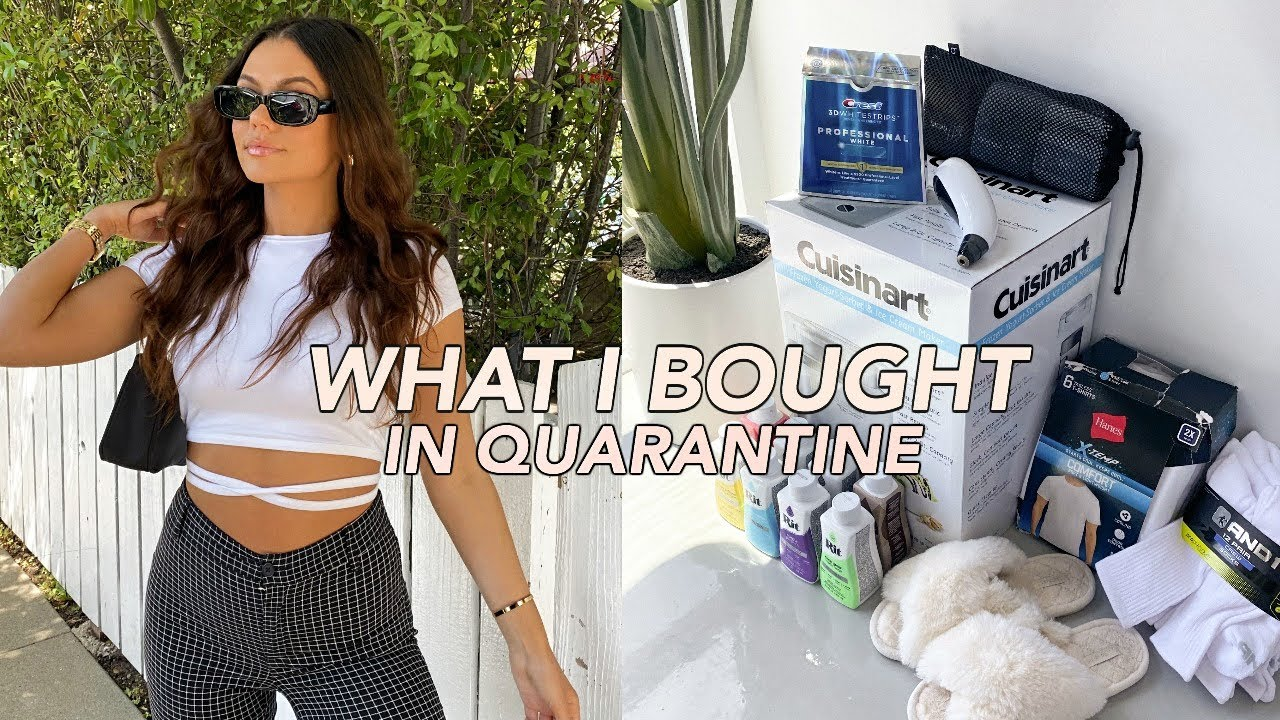 AMAZON FAVORITES: things I bought in quarantine