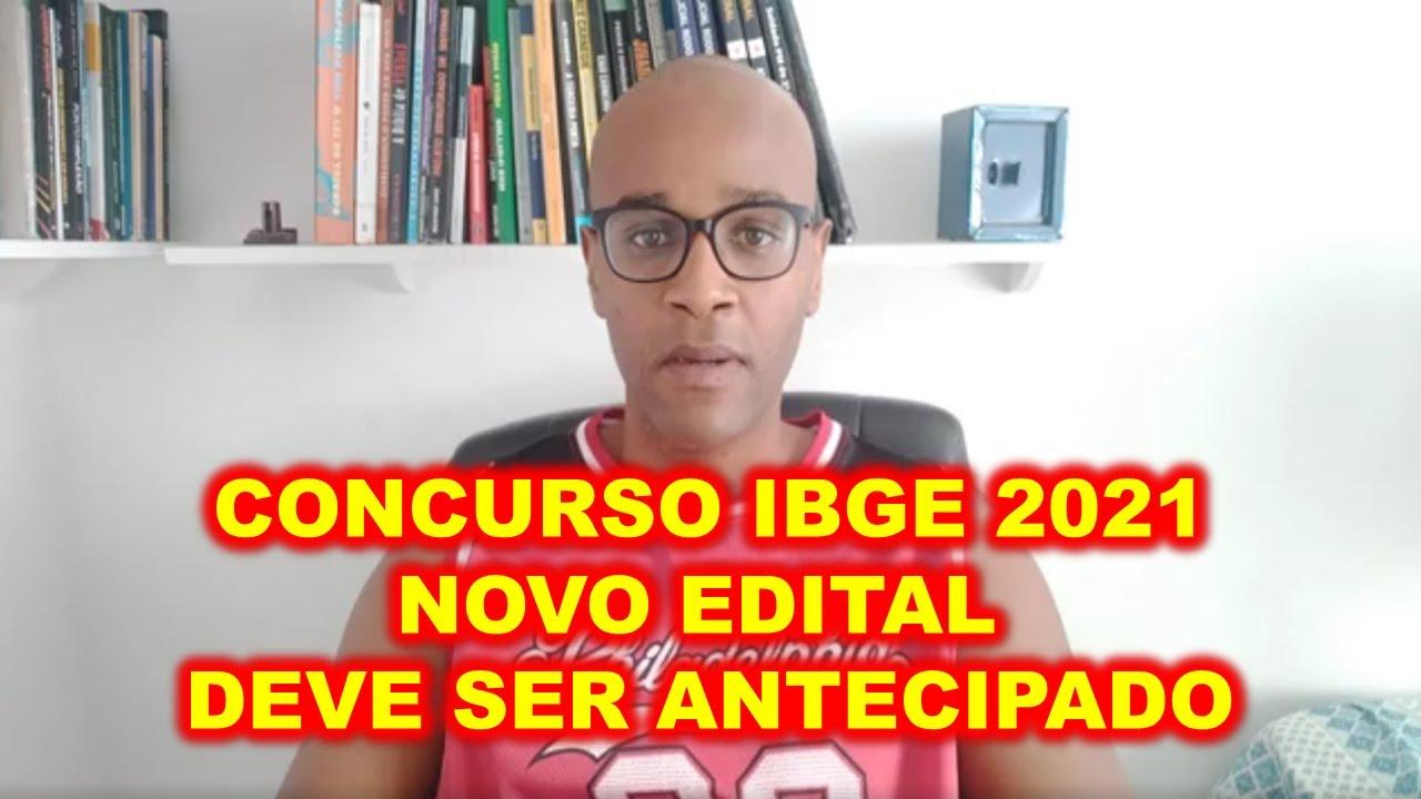 Concurso IBGE 2021 próximo edital deve ser antecipado