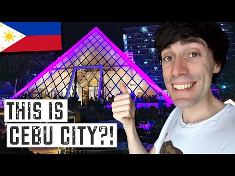 What is CEBU IT PARK? (I didn't expect this in the Philippines...)