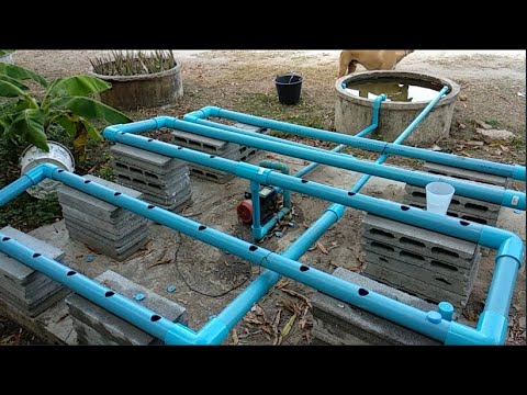 diy Aquaponics Farm – How to Build an Aquaponic System  (part 1)