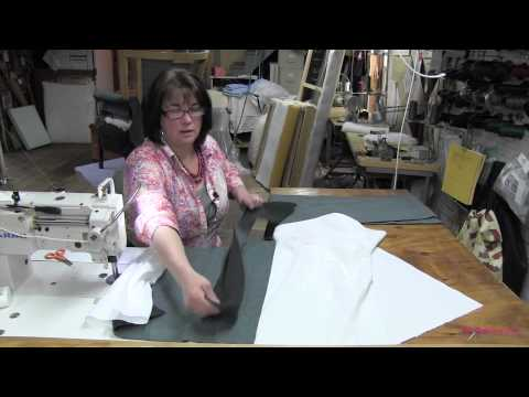 Upholstering A Channel Back Chair  Part 2