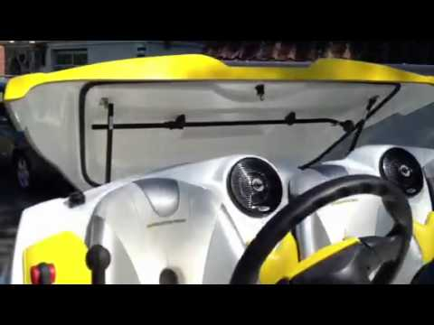 Sea Doo Speedster Start Up