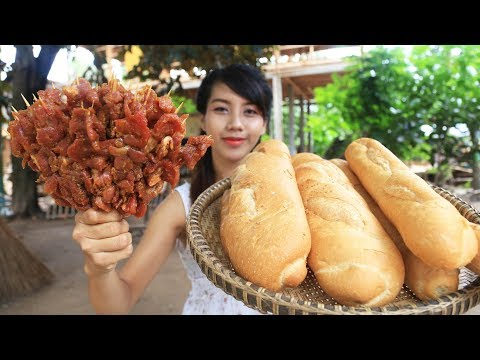 Yummy cooking bread with beef recipe - Cooking skill