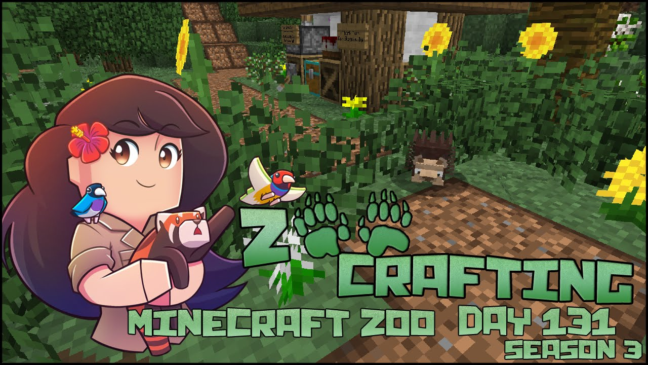 Download So Much to Do in the Zoo~!! 🐘 Zoo Crafting: Episode #131