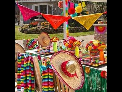 ideas de decoracion para fiesta mexicana de patrias
