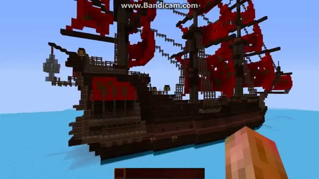 Minecraft How To Build The Black Pearl