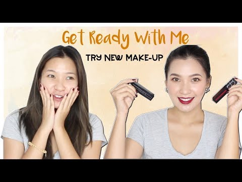 GRWM TRY NEW MAKE-UP  NARS, GIVENCHY, 3CE    by THEMAKEAHOLICS