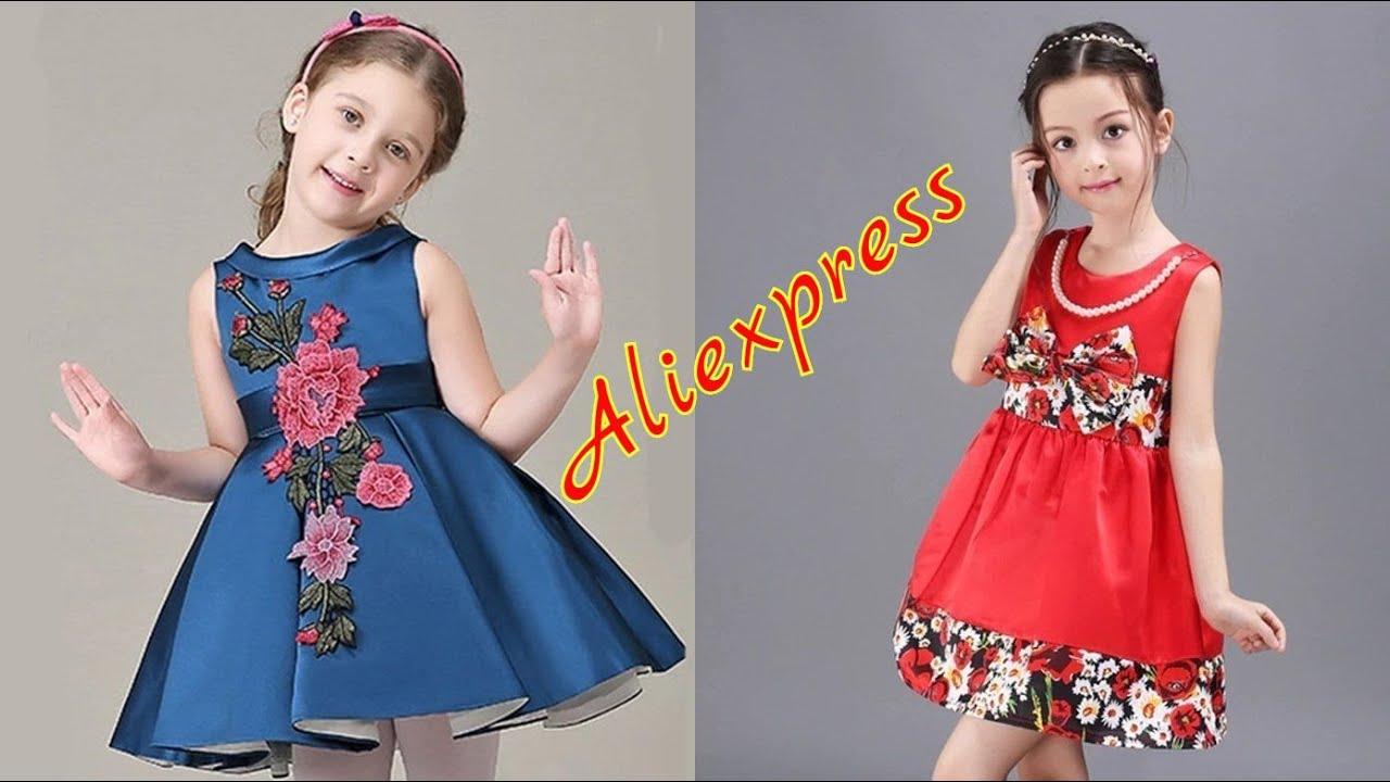 7 Детские платья с Алиэкспресс 2020 Aliexpress Children's dresses Лучшая Детская одежда из Китая